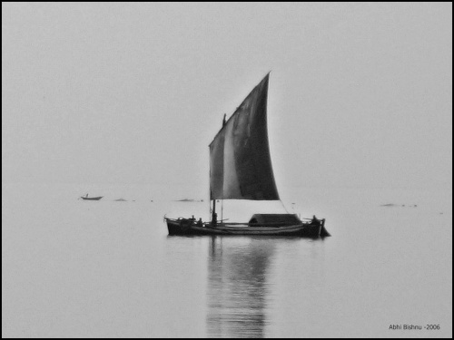 Boat on the Ganges