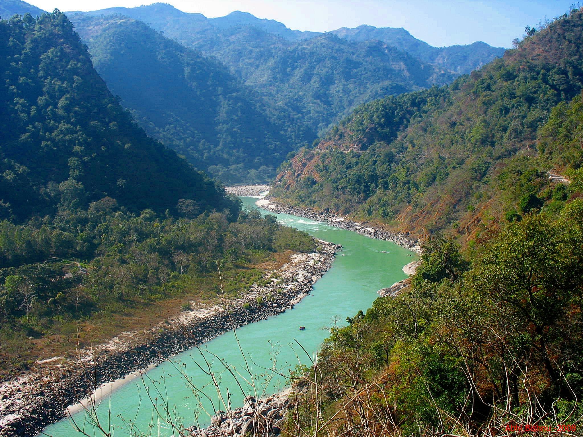 Quiet flows the Ganges...