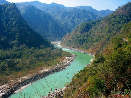 Ganges among the Mountains