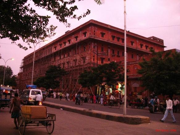 Jaipur at dusk