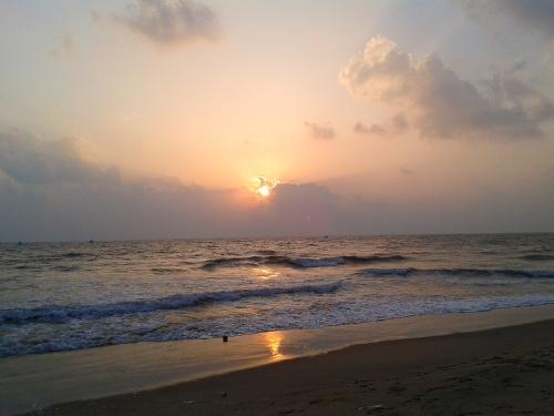 Kovalam Beach_near Chennai