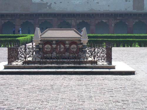 Colvin's grave