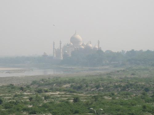 View of the Taj