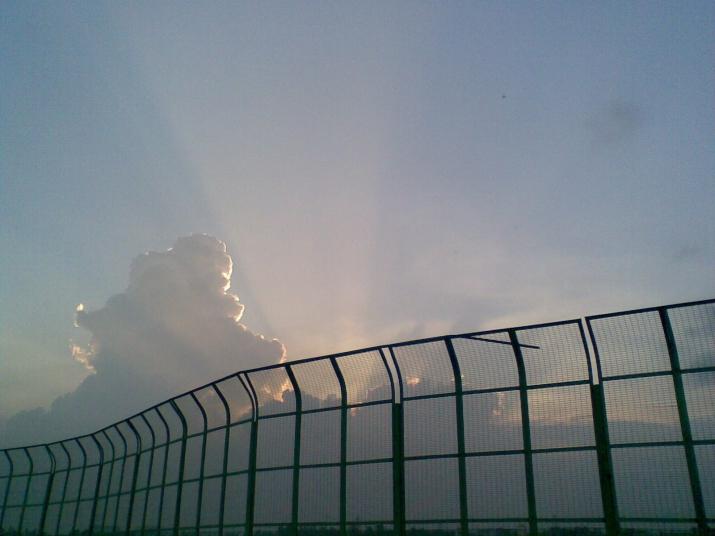 Badarpur Delhi_Sunset