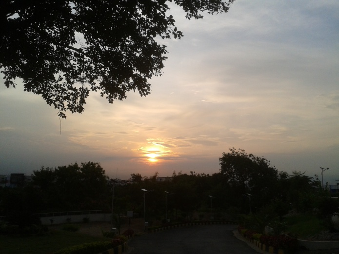 Banjara Hills , Hyderabad_ Sunrise