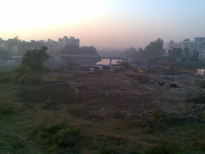 Chinchwad Pune_Dusk