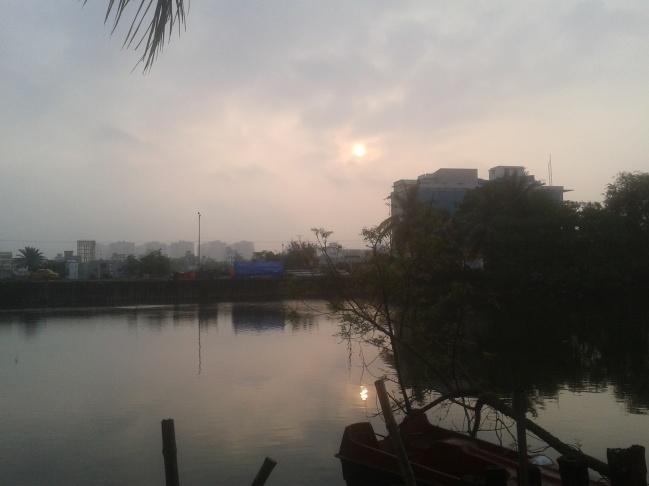 Eastern Bypass Kolkata_ Sunrise