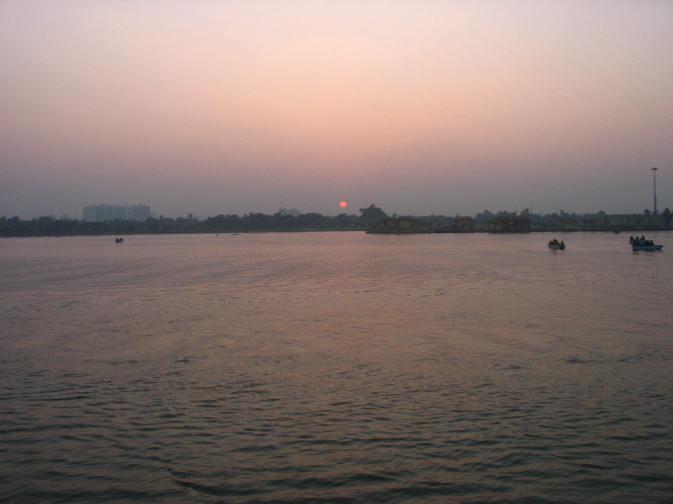 Ecopark Kolkata_Sunset