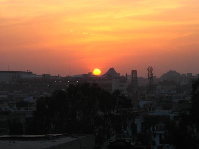 Faridabad_Sunset
