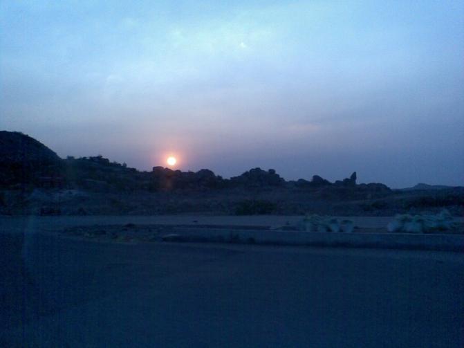 Gachibowli Hyderabad_Sunset