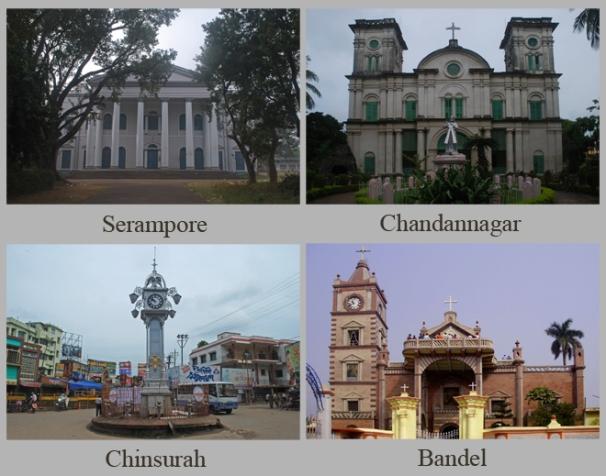 Europe along the Hooghly River (Serampore, Chandannagar, Chinsurah and Bandel)