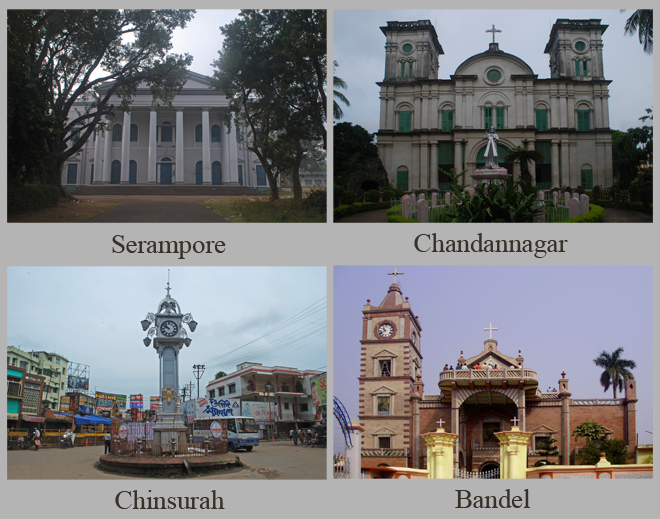 Europe along the Hooghly River (Serampore, Chandannagar, Chinsurah and Bandel)