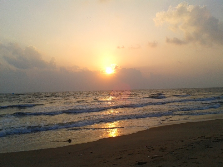 Kovalam Beach Chennai_Sunrise