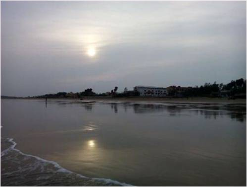 Mandarmoni Beach West Bengal_Sunset