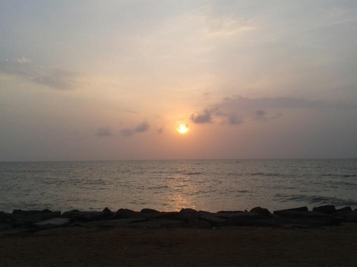 Pondicherry_Sunrise
