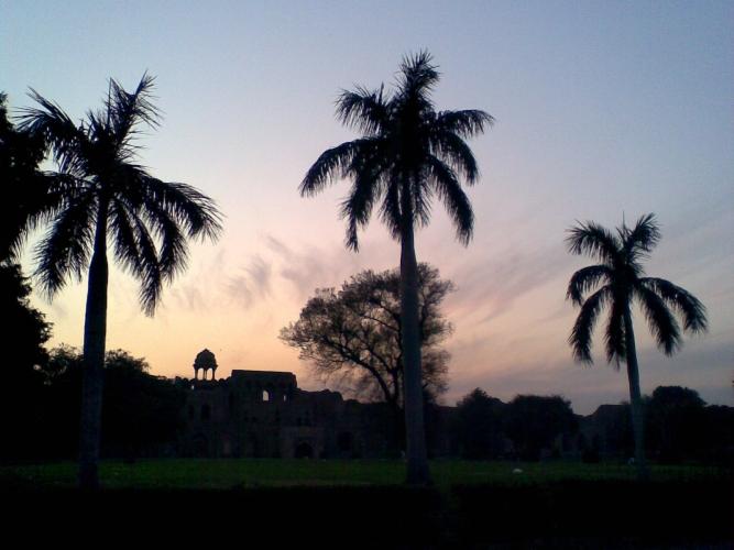 Purana Qila Delhi_Dusk