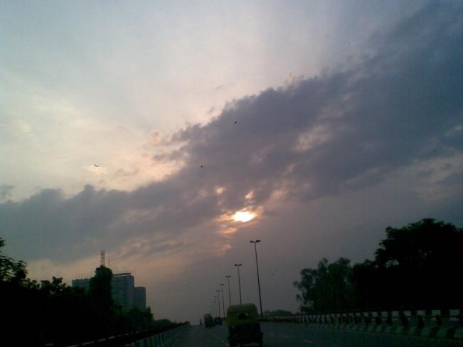 Sarita Vihar New Delhi_Solar Eclipse
