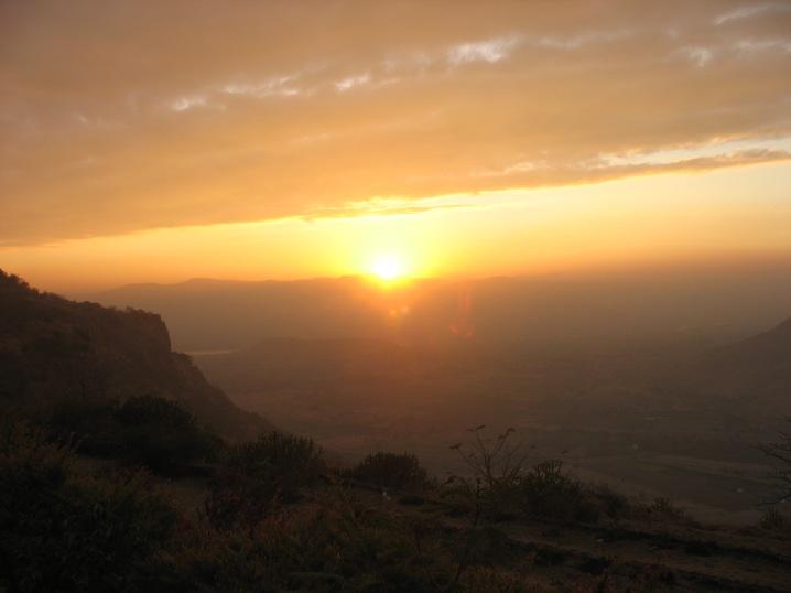 Shivneri_Sunset