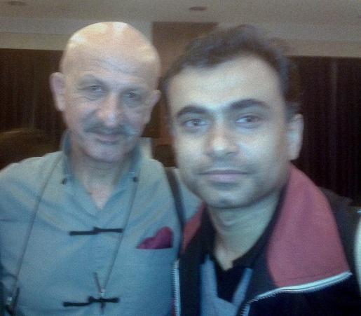 Abhi with Reza