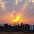 Sunrise  at  Ranchi