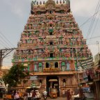 Magnificient Thiruvanaikovil Temple,  Trichy