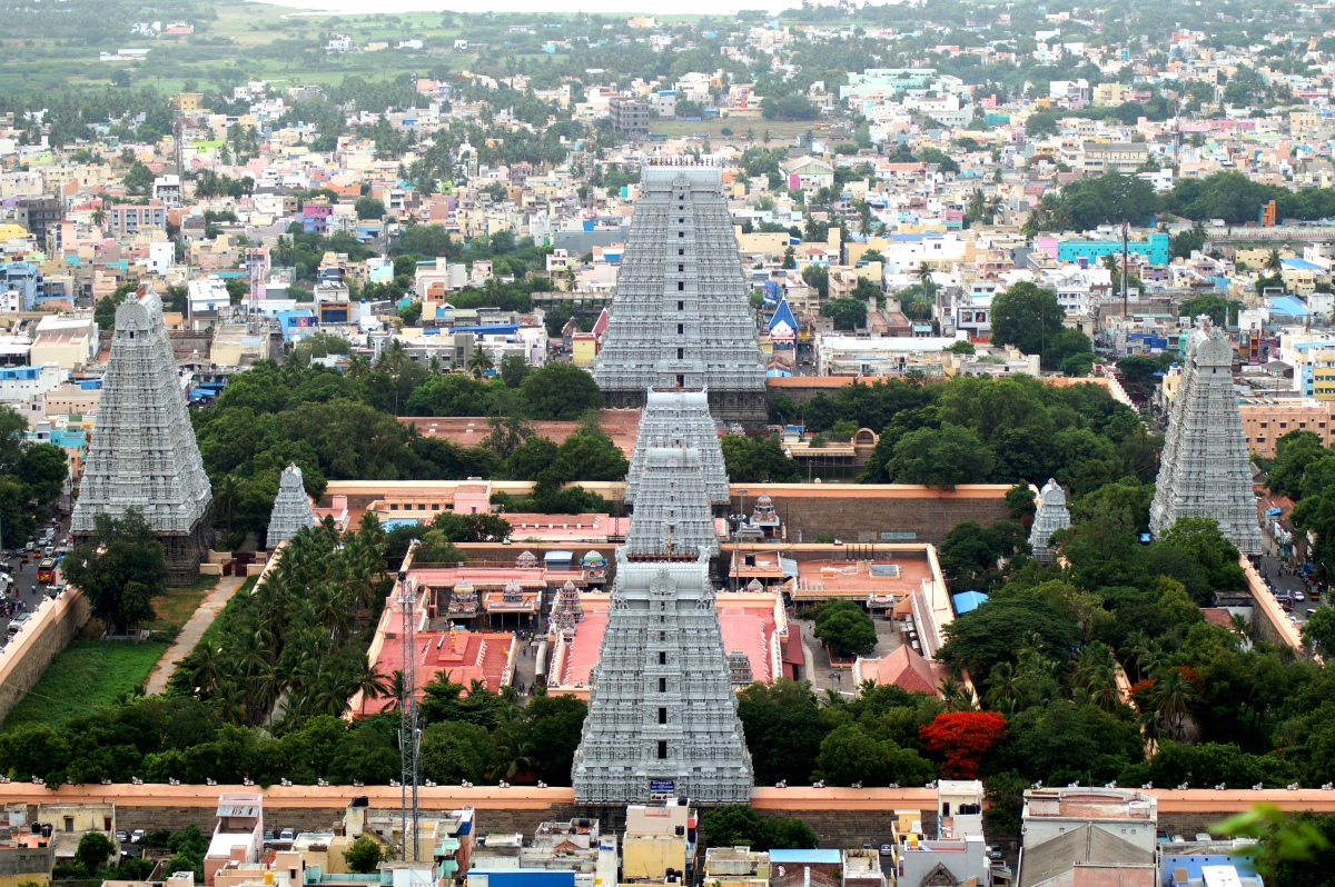 Tiruvannamalai Chronicles-Annamalaiyar Temple from Arunachala Hill